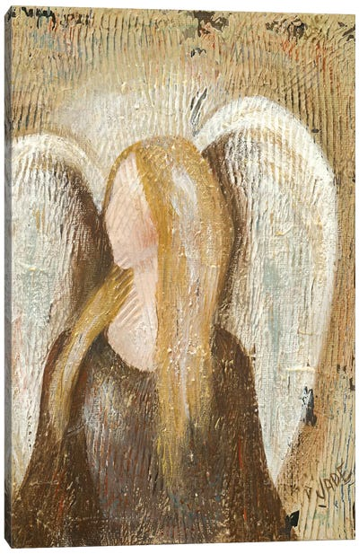 Angel Canvas Art Print