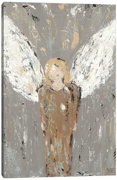 Angel Guardian Canvas Art Print