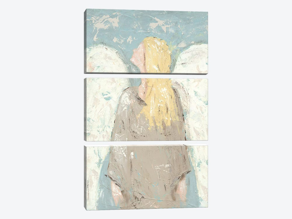Angel Waiting by Jade Reynolds 3-piece Canvas Wall Art