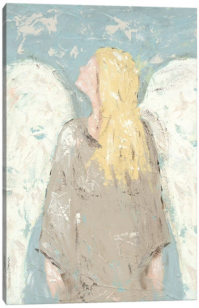 Angel Waiting Canvas Art Print
