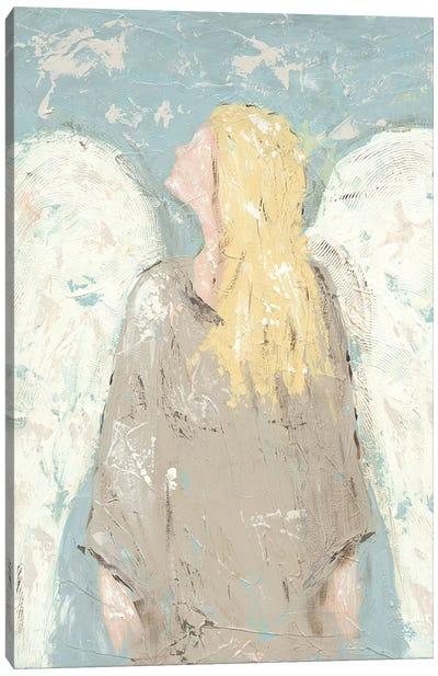 Angel Waiting Canvas Art Print