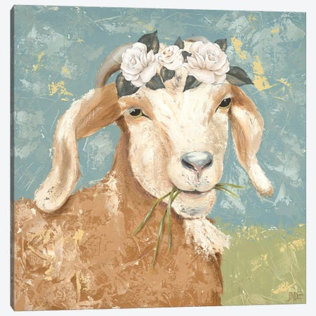 Farm Fun I Canvas Print #JAD58} by Jade Reynolds Canvas Wall Art
