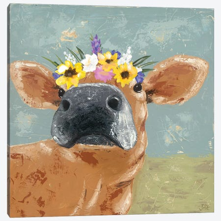 Farm Fun II Canvas Print #JAD59} by Jade Reynolds Canvas Artwork