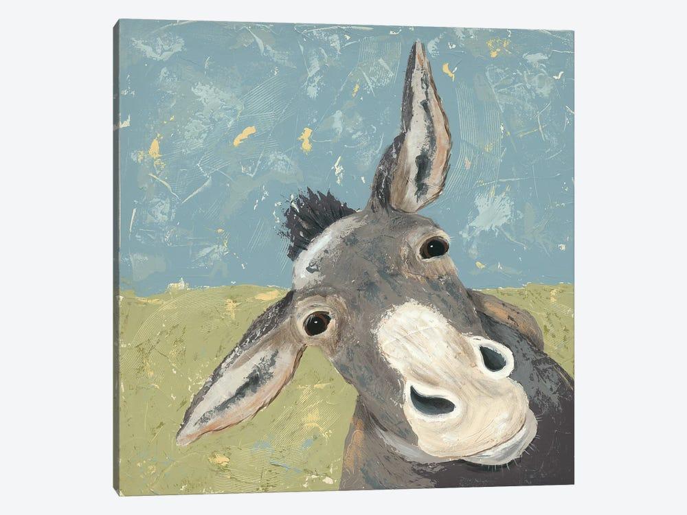 Farm Life-Mule by Jade Reynolds 1-piece Art Print