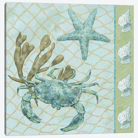Under Sea II Canvas Print #JAD78} by Jade Reynolds Canvas Art