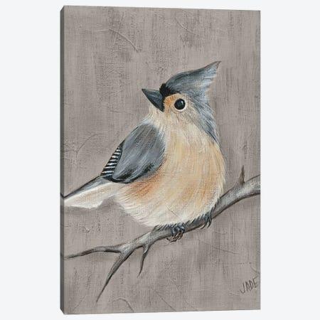 Winter Bird I 3-Piece Canvas #JAD81} by Jade Reynolds Canvas Print