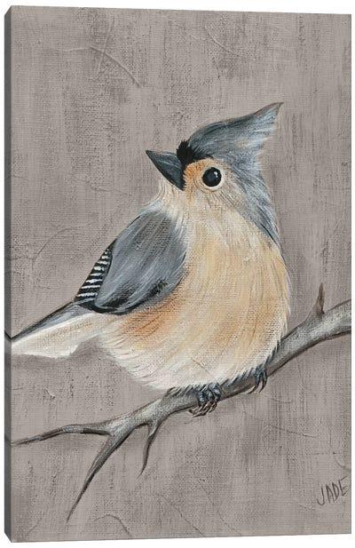 Winter Bird I Canvas Art Print