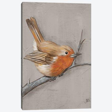 Winter Bird II Canvas Print #JAD82} by Jade Reynolds Art Print