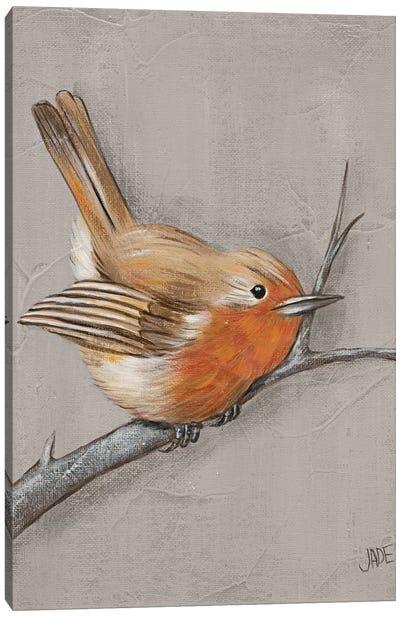 Winter Bird II Canvas Art Print