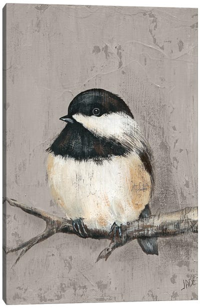 Winter Bird IV Canvas Art Print