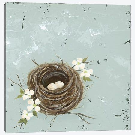 Flower Nest II Canvas Print #JAD88} by Jade Reynolds Canvas Print