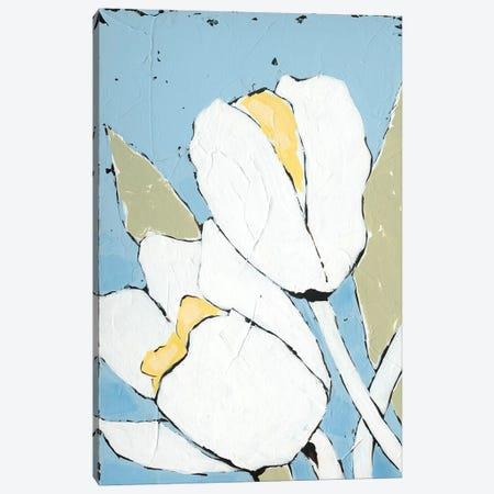 White Tulip Triptych I Canvas Print #JAD89} by Jade Reynolds Canvas Art Print