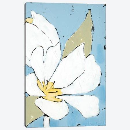 White Tulip Triptych III Canvas Print #JAD91} by Jade Reynolds Canvas Artwork