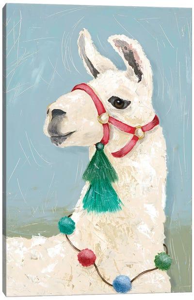 Painted Llama I Canvas Art Print