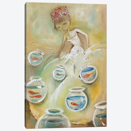 Fishbowl Dress Canvas Print #JAF24} by Jenna Fournier Canvas Artwork