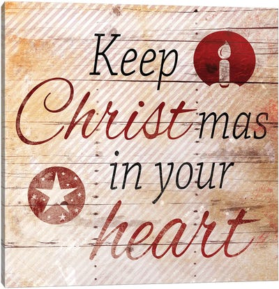 Christmas In Your Heart Canvas Art Print