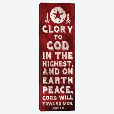 Glory To God Canvas Print #JAG15} by Jace Grey Canvas Artwork