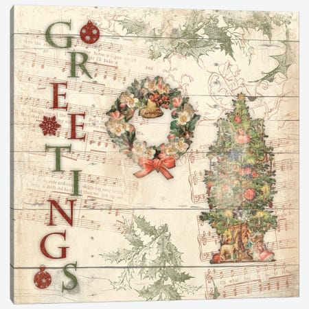 Greetings Canvas Print #JAG16} by Jace Grey Canvas Wall Art