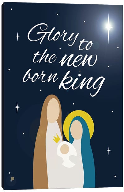 Nativity King Canvas Art Print