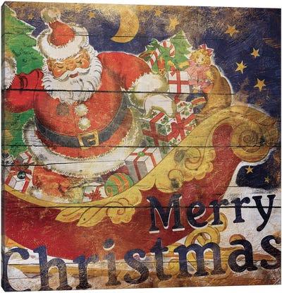 Santa Christmas Canvas Art Print