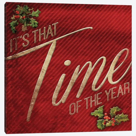 Time Of The Year Canvas Print #JAG24} by Jace Grey Art Print
