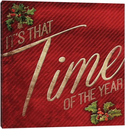 Time Of The Year Canvas Art Print