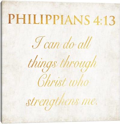 Philippians Canvas Art Print