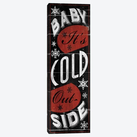 Baby Its Cold Canvas Print #JAG6} by Jace Grey Canvas Art