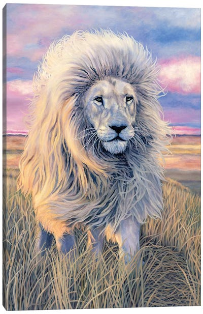 Timbavati Messenger Canvas Art Print