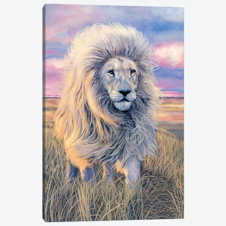 Timbavati Messenger Canvas Print #JAH1} by Jan Henderson Canvas Artwork