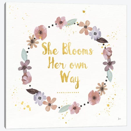 Simply Amazing I Bloom Canvas Print #JAI11} by Jess Aiken Canvas Print