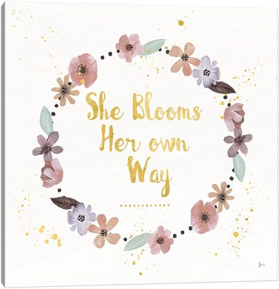 Simply Amazing I Bloom Canvas Art Print