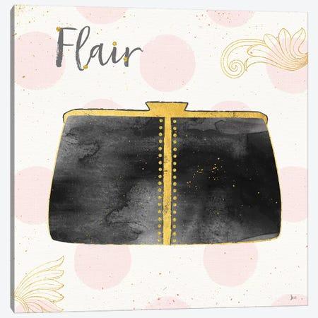 Fashion Blooms II In Black Canvas Print #JAI2} by Jess Aiken Art Print