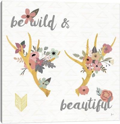 Boho Beauty I Pastel Canvas Art Print