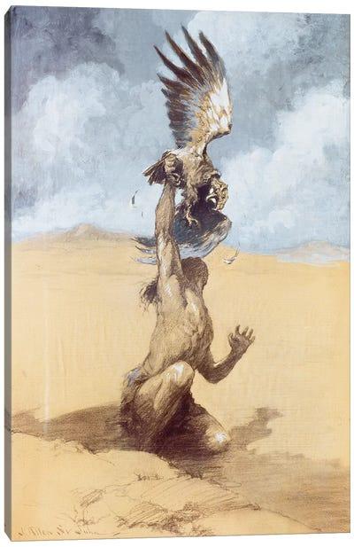 Tarzan The Untamed Canvas Art Print