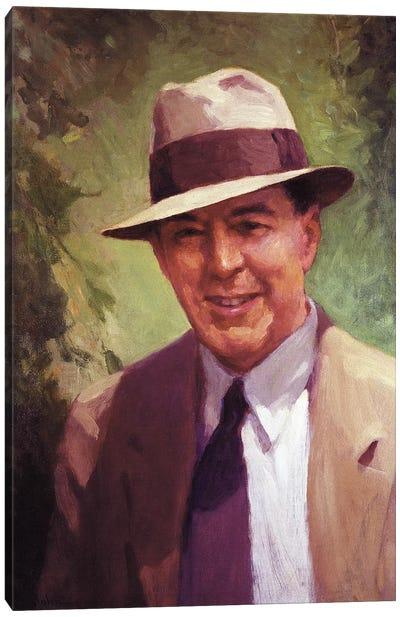 Edgar Rice Burroughs Canvas Art Print