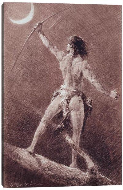 Jungle Tales Of Tarzan Canvas Art Print