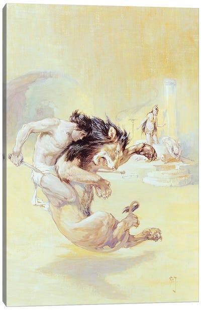Tarzan And The Jewels Of Opar Canvas Art Print