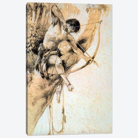 Tarzan And The Jewels Of Opar II Canvas Print #JAJ7} by J. Allen St. John Canvas Print