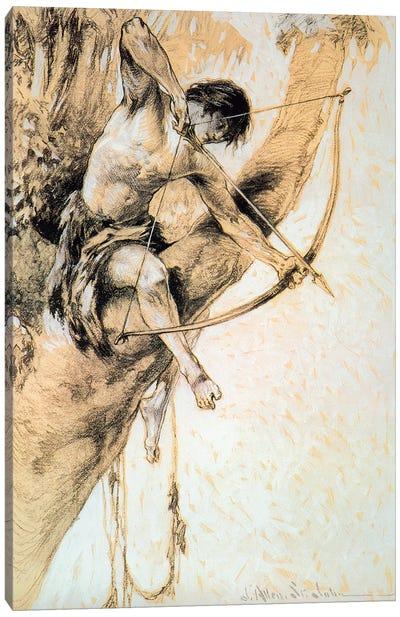 Tarzan And The Jewels Of Opar II Canvas Art Print