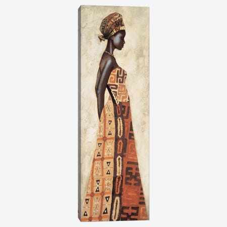 Femme Africaine I Canvas Print #JAL1} by Jacques Leconte Canvas Art