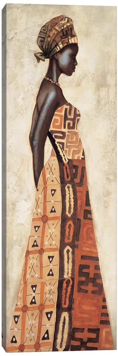 Femme Africaine I Canvas Art Print