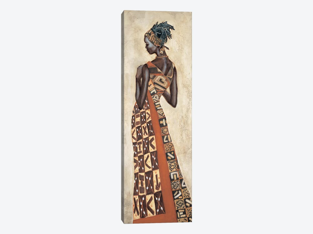 Femme Africaine II by Jacques Leconte 1-piece Canvas Art Print