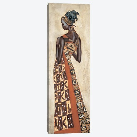 Femme Africaine II Canvas Print #JAL2} by Jacques Leconte Canvas Artwork