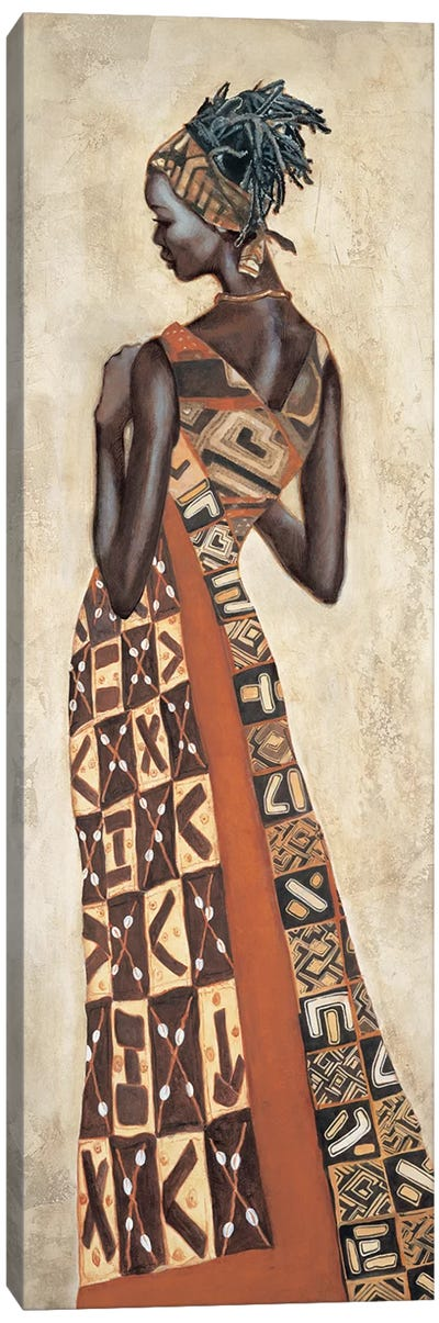 Femme Africaine II Canvas Art Print