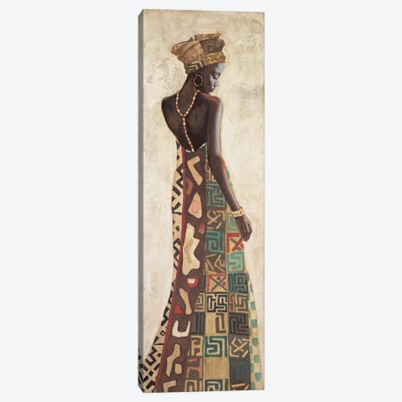 Femme Africaine III Canvas Print #JAL3} by Jacques Leconte Canvas Art