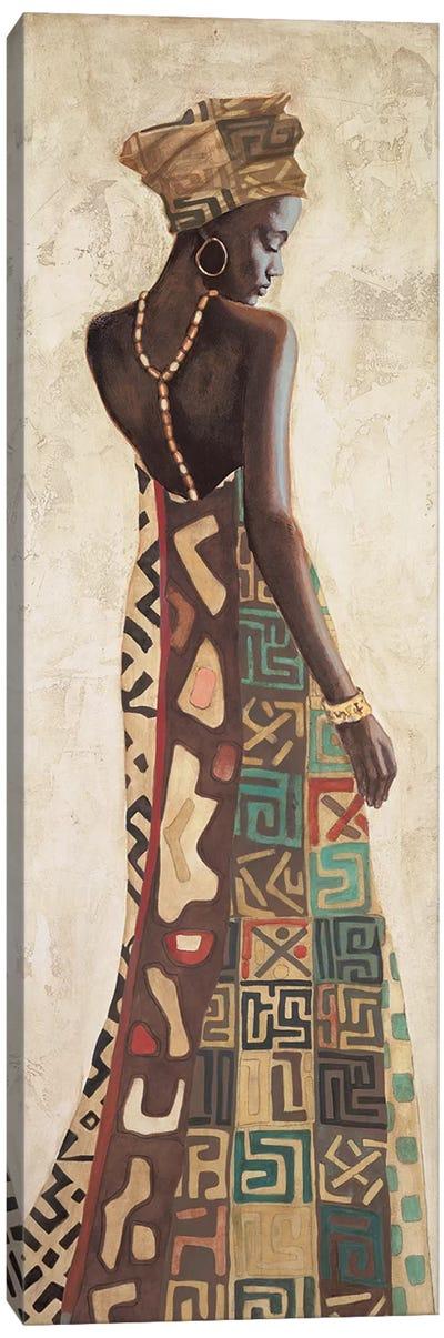 Femme Africaine III Canvas Art Print