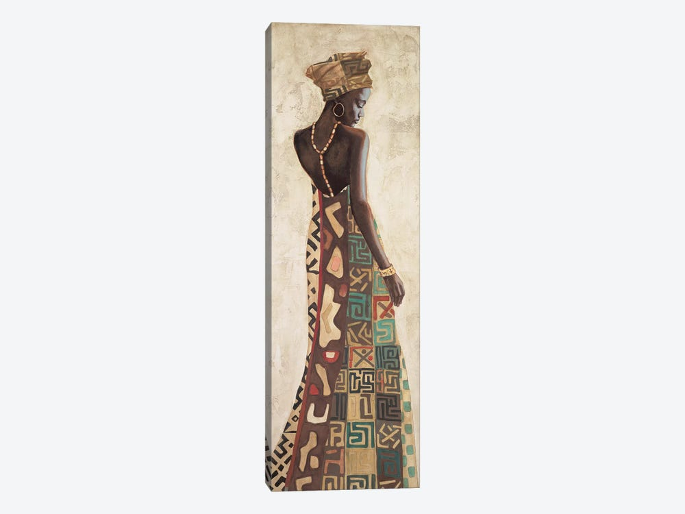 Femme Africaine III by Jacques Leconte 1-piece Canvas Artwork