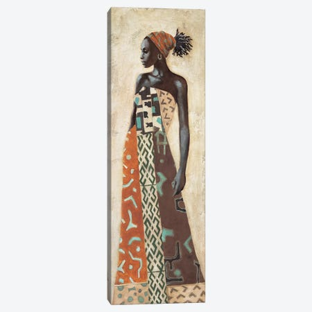 Femme Africaine IV Canvas Print #JAL4} by Jacques Leconte Canvas Print