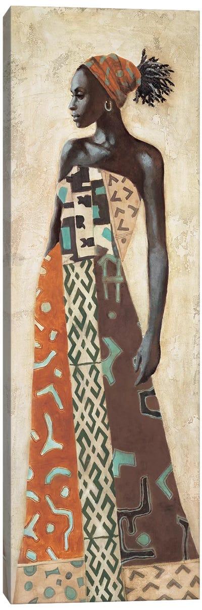 Femme Africaine IV Canvas Art Print